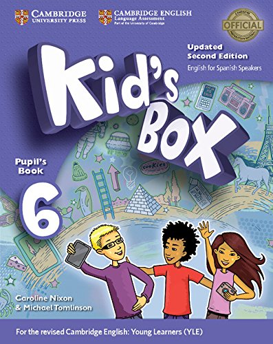 Kid's Box Level 6 Pupil's Book Updated English for Spanish Speakers Second Edition - 9788490369968 por Caroline Nixon