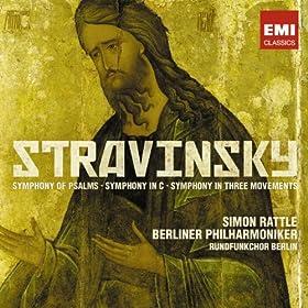 Symphony of Psalms: III. Alleluja. Laudate Dominum