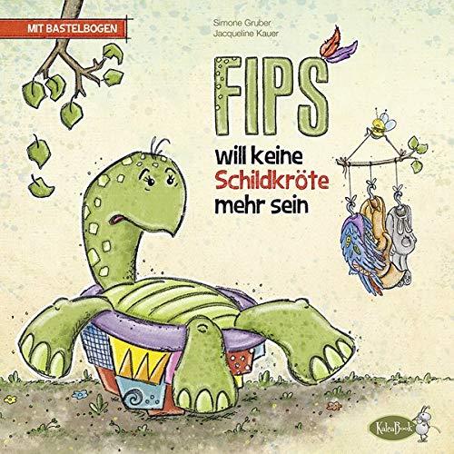 Rollentausch Kostüm - Fips will keine Schildkröte mehr sein: mit Anzieh-Fips als Bastelbogen