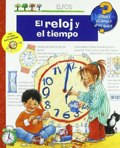 Portada del libro ¿Qu'?... El reloj y el tiempo (¿Qué?)