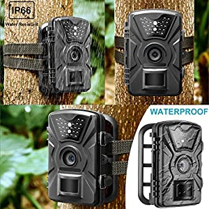 Neewer Trail Game Camera Water-Proof for Animal Hunting Wildlife Scouting Surveillance