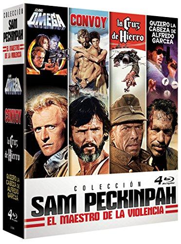 Sam Peckinpah Clave Omega The Osterman Weekend + La Cruz de Hierro Cross of Iron + Quiero la Cabeza de Alfredo Garcia Bring Me t