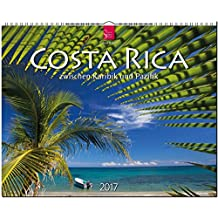 COSTA RICA - Zwischen Karibik und Pazifik - Original Stürtz-Kalender 2017 - Großformat-Kalender 60 x 48 cm