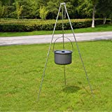 Best Camping Pots - WhalePrime Alumina alloy Camping Pot Picnic Cooking Camp Review