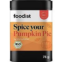 Foodist BIO Pumpkin Spice Gewürz mit Zimt und Ingwer, vegan, Kürbisgewürz für Pumpkin Pies, Kuchen, Suppen oder Kaffee…