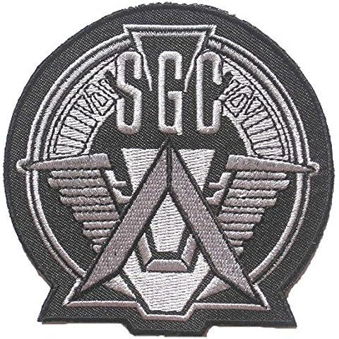 Stargate Star gate SG-1 SGC Atlantis U.S.S. Odyssey uniform LOGO sew iron on Patch Badge Embroidery 9.5x10 cm 3.75x4 ST-03 by Happypatch