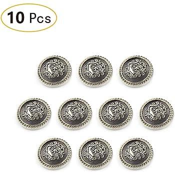 Tong Yue Metal Shank Sewing Buttons Brass Premium Blazer