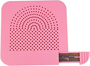 TOYMYTOY Quilling Board with Pins Storage for Paper Crafting Winder Roll (Pink)