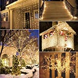 Battery Operated Waterproof Fairy Lights with 10M 100 Warm White LEDs Bild 3