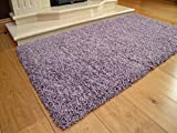 Soft Touch Shaggy Heather Thick Luxurious Soft 5cm Dense Pile Rug. Available in 7 Sizes (80cm x 150cm)