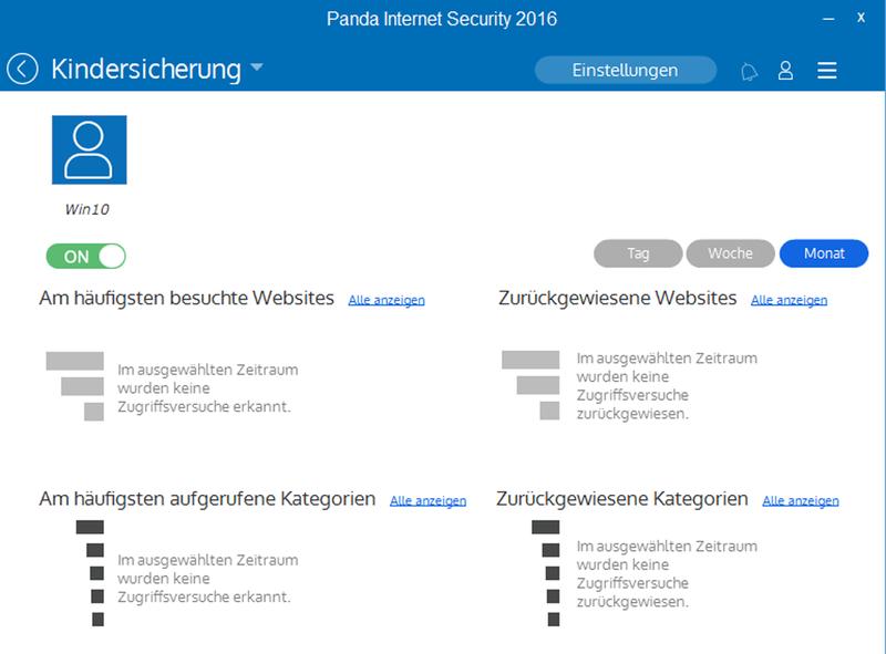 Panda Internet Security 2016 - 3 User / 12 Monate [Online Code] - 4