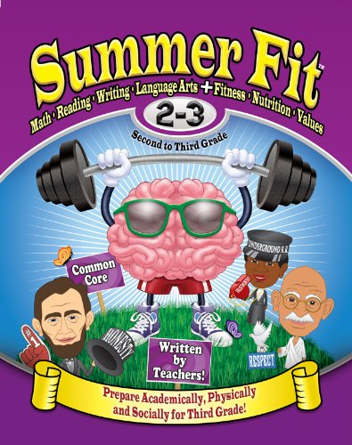 Summer Fit, Grades 2-3: Exercises for the Brain and Body While Away from School