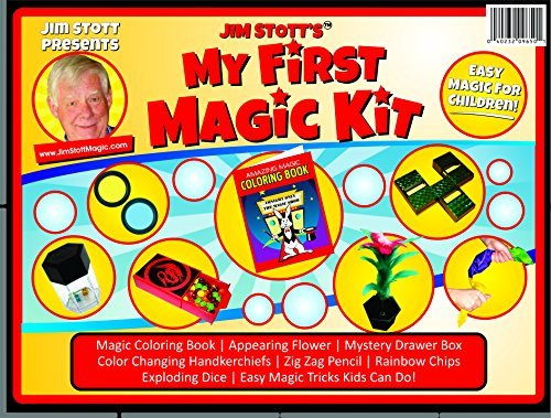 Jim Stott Presents 'My First Magic Kit' The Perfect Magic Kit for Beginners...