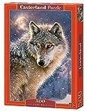 CASTORLAND Lone Wolf 500 pcs 500pieza(s) - Rompecabezas (Jigsaw Puzzle, Fauna, Niños y...