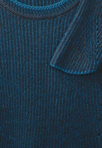 Cecil Pullover Rounded Hemline, Pull Femme bright petrol blue (türkisblau)