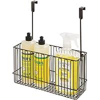 mDesign corbeille de rangement pour accessoires cuisine – panier de rangement en métal pour produit de vaisselle…