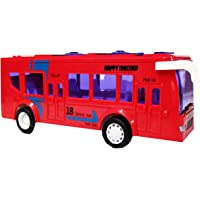 Emob Battery Operated Luxury Model Bus Toy with Light and Sound Effect
