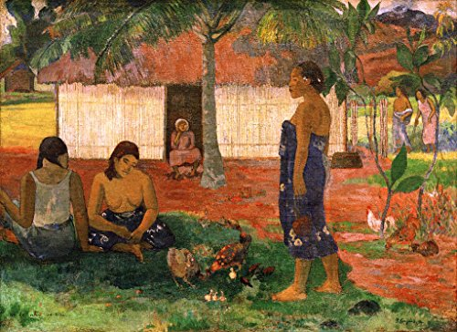 art-print-poster-paul-gauguin-no-te-aha-oe-riri-high-quality-picture-fine-art-poster-95x70-cm-37x28-