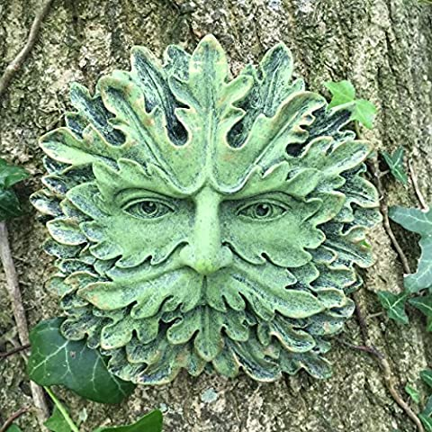 Green Man Wall Plaque Boxed Pagan Wiccan