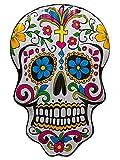 Bada Bing XL Aufblasbare Luftmatratze Totenkopf Sugar Skull Garten Pool Deko Mexiko 72