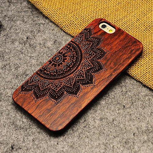 Handy-Schutzhülle für iPhone, Holz, totenkopf, iPhone SE/5S/5 Sunflower