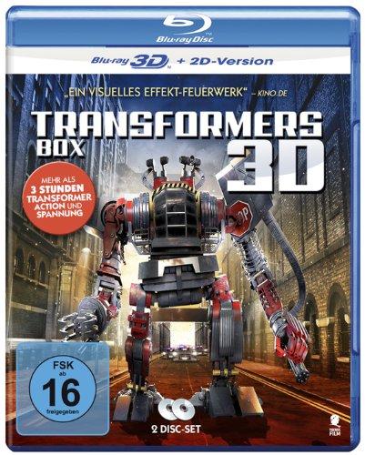 Transformers Box mit 2 Discs [3D Blu-ray + 2D Version] (Transformer Action und Spannung: Space Transformers & Recyclo Transform