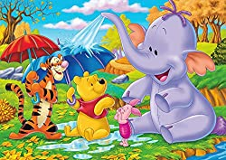 Photo Poster Wallpaper Winnie the Pooh and Friends 150x105cm Children's Wallpaper Wall Tattoo/Sticker