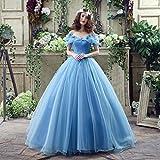 XC Moderne Version Der Braut Kleid Plattform Aschenputtel Kleid Blau Farbe Brautkleid Brautkleid,EIN,XXXL