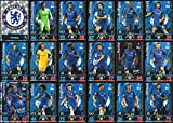 Picture Of MATCH ATTAX 2018/19 18/19 CHELSEA FULL 18 CARD TEAM SET