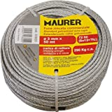 Maurer 1120001 Cable Galvanizado  2 Mm (Rollo 100 Metros) No Elevacion