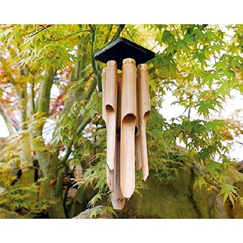 PERAGA Campana de Viento de bambú 13x 13x 85cm Atrapasueños