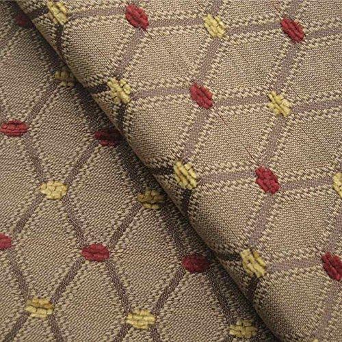 Berkeley Sofa ('Berkeley Granada Motiv: Beige und Violett Öl Material Stoff Dekostoff Kissen Sofa, feuerbeständig loome Gewebe, Berkeley 'Pomegranate Pattern' : Beige, Purple, 10 x 14 cm sample)