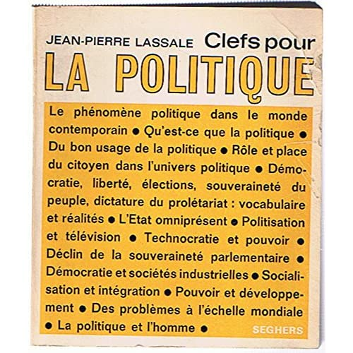 Clefs pour la politique