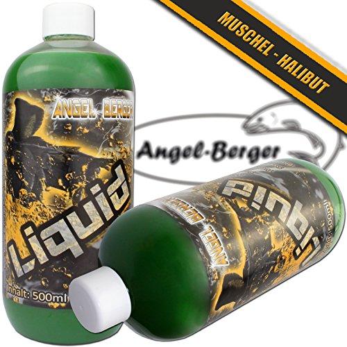 Angel Berger Magic Baits Liquid Aroma Dip verschiedene Sorten (Muschel – Halibut)
