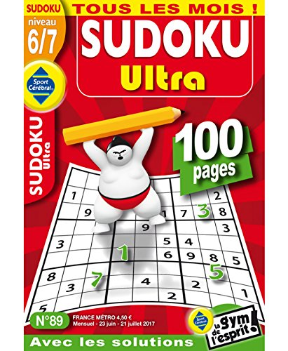 Sudoku Ultra Niveau 6/7 par sportcerebral