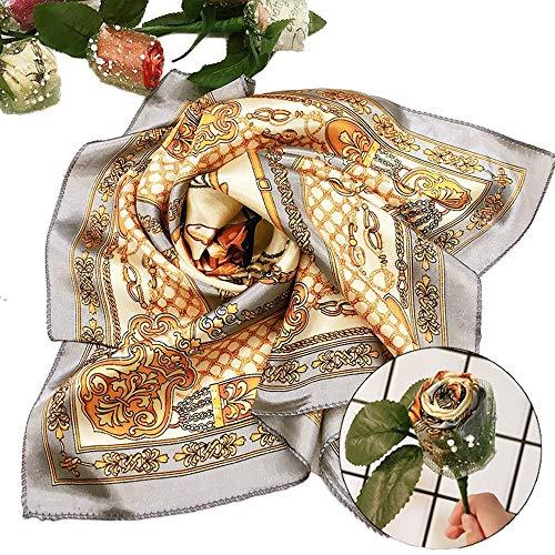 Aiwer Seidenschal Schals Blumen Praktische Überraschungen für Frau und Mutter Muttertagsgeschenk,05 -