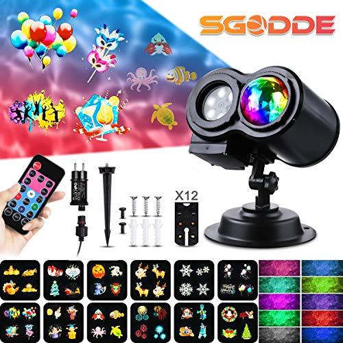 """SGODDE Wildkamera,Full HD 5.0 Jagdkamera Bewegungsmelder 16MP 1080P 2.4"""" LCD mit Infrarot-Nachtsicht bis zu 65 Fuß/20 m,mit 42 schwarzen LEDs,IP66 Spray Wasserdicht kabellos 0,7 Sekunden Auslösezeit"""