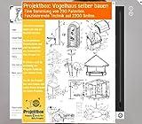 Vogelhaus selber bauen: Deine Projektbox inkl. 230 Original-Patenten bringt Dich mit Spaß ans Ziel!