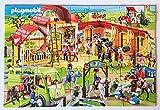 2 Mini-Puzzles von PLAYMOBIL - Reiterhof + Top Agents