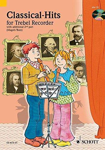 Classical-Hits: 1-2 Alt-Blockflöten. Ausgabe mit CD. (Spiel und Spaß mit der Blockflöte)