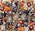 Arabian Nights Ethnic orange brown Jewellery Making Starter Beads Mix Set