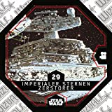 Rewe STAR WARS Cosmic Shells Normal 29 Imperialer Sternen-Zerstörer + WIZUALS STICKER