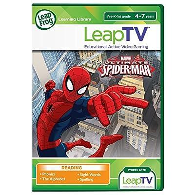LeapFrog LeapTV Learning Game Ultimate Spider-Man Sinister Six Showdown
