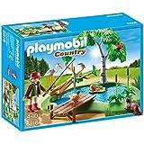 Playmobil Vida en el Bosque - Lago con animales (6816)