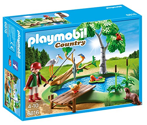 Playmobil Vida Bosque - Country Lago Animales Playsets