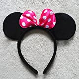 Kolossalz High Quality Mini Pink Bow Hea...