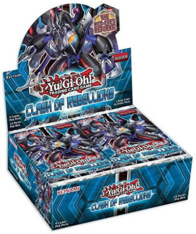 Yugioh Clash of Rebellions - TCG Trading Card Game 1st