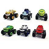 OYJD Monster Machines 6 Piezas Set Camión Vehículos Racer Cars Toy