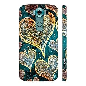 Enthopia Designer Hardshell Case Love Is In The Air Back Cover for LG V10