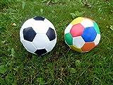 Softball Fußball 10cm (bunt.)